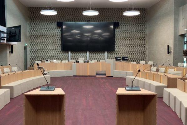 Complete make-over voor raadzaal Eindhoven